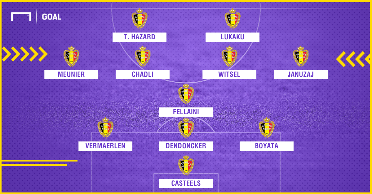 Belgium England 3rd place line up prediction World Cup
