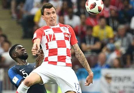 Mandzukic makes unwanted World Cup history