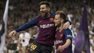 Ivan Rakitic Lionel Messi Barcelona Real Madrid