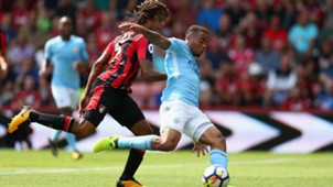Nathan Ake, Gabriel Jesus, Bournemouth vs Manchester City