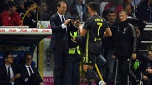 Allegri Cristiano Ronaldo Juventus 2018