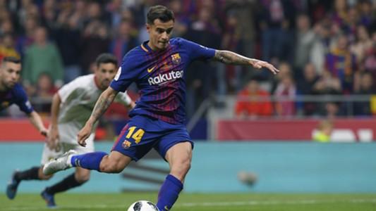 Coutinho Sevilla Barcelona Copa del Rey