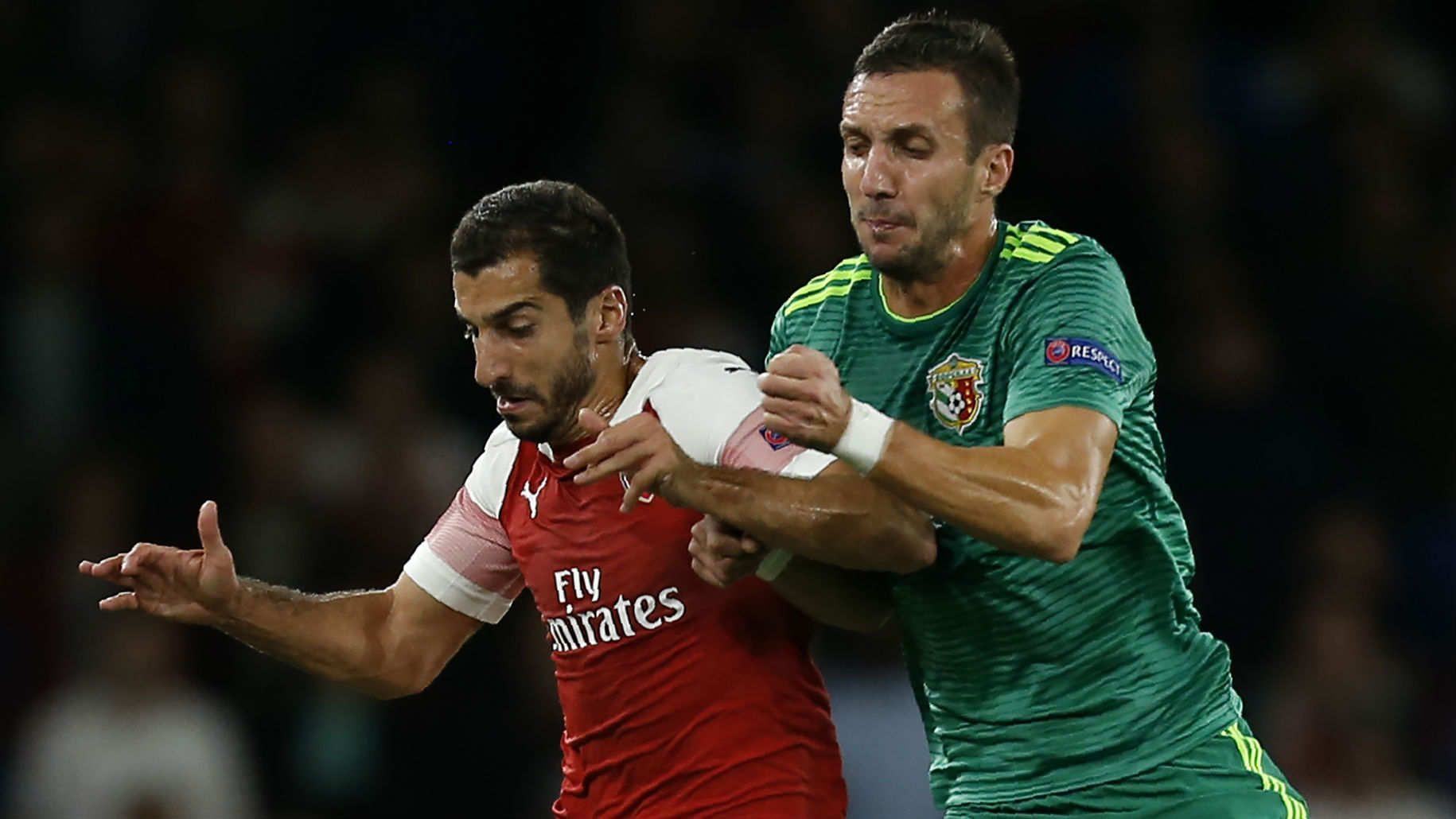 Arsenal cruise past Vorskla Poltava to win Europa League group