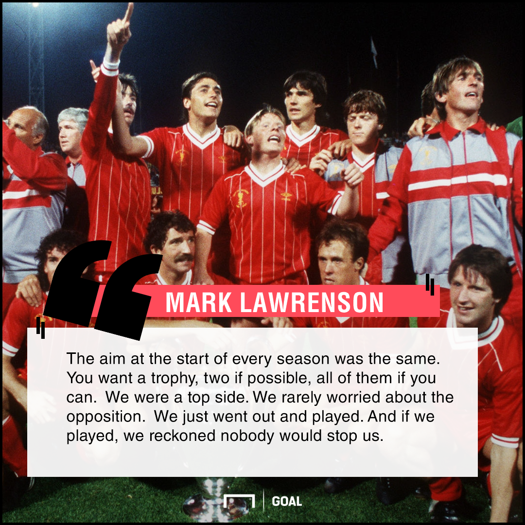 Mark Lawrenson on Liverpool's 1984 side