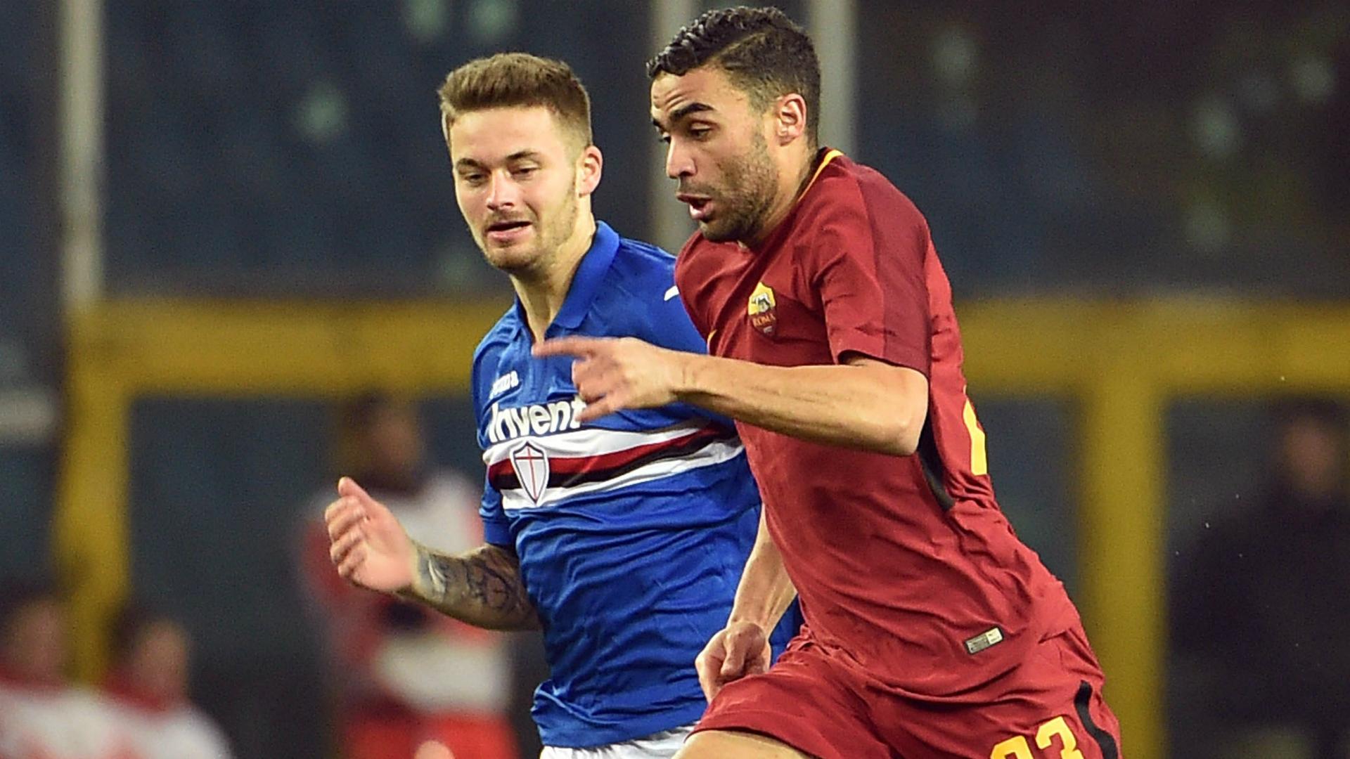 Defrel Linetty Sampdoria Roma Serie A