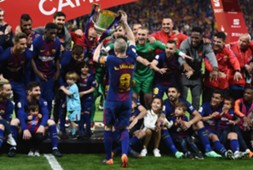 barcelona iniesta copa del rey 2018 sevilla