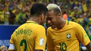 Dani Alves Neymar Brazil