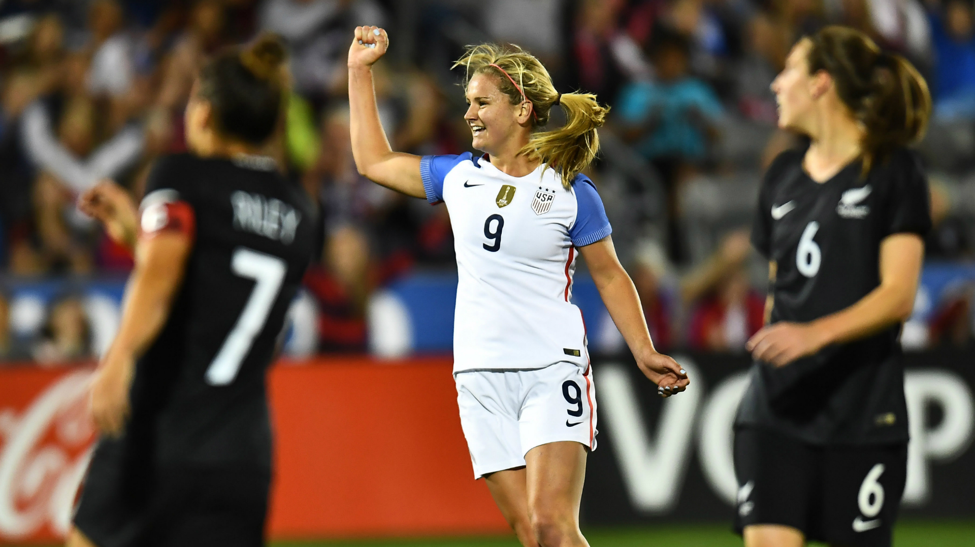 Lindsey Horan USWNT New Zealand
