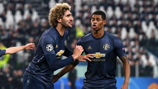 Marouane Fellaini Manchester United Juventus UEFA Champions League 07112018