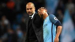 Gabriel Jesus Pep Guardiola Manchester City Manchester United Premier League 27042017