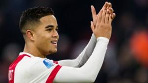 Justin Kluivert, Ajax - Willem II, Eredivisie 12242017