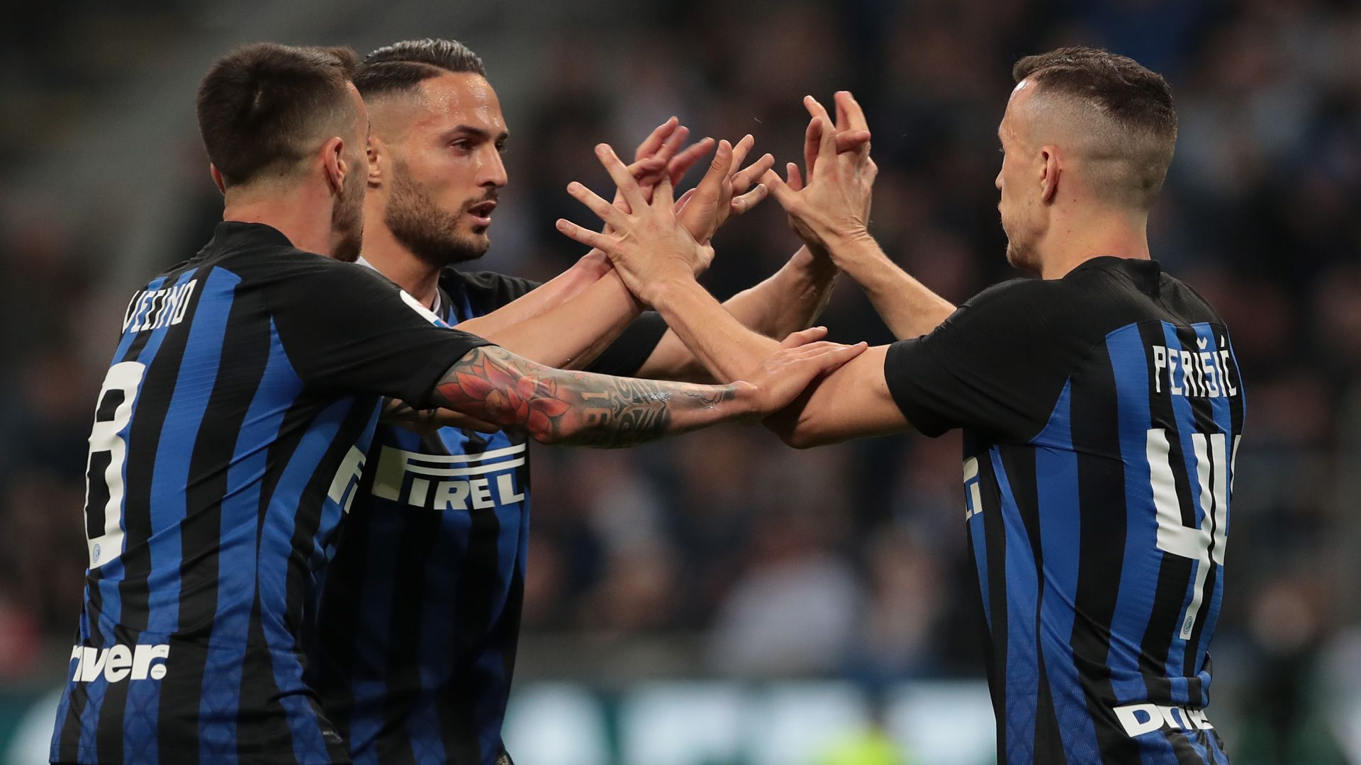 Ivan Perisic Inter Roma Serie A