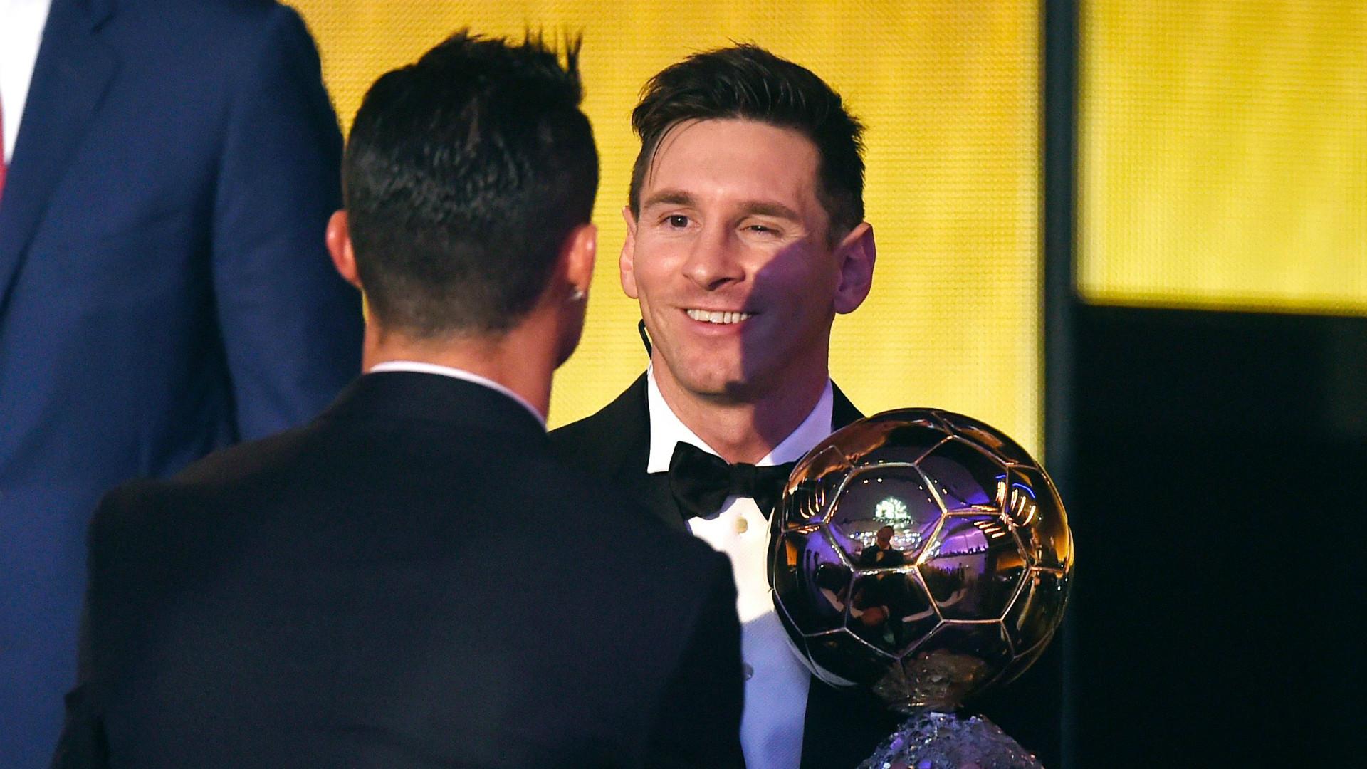 Cristiano Ronaldo Lionel Messi Ballon d'Or