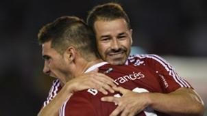 Lucas Alario Rodrigo Mora River Plate Temperley Primera Division 06052017
