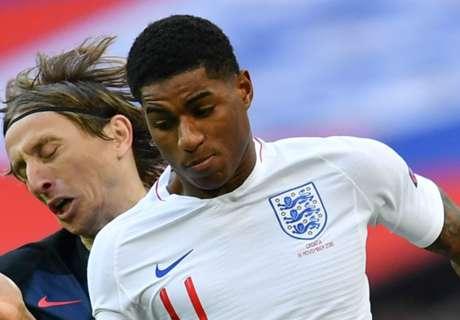 Rashford equals England appearance record