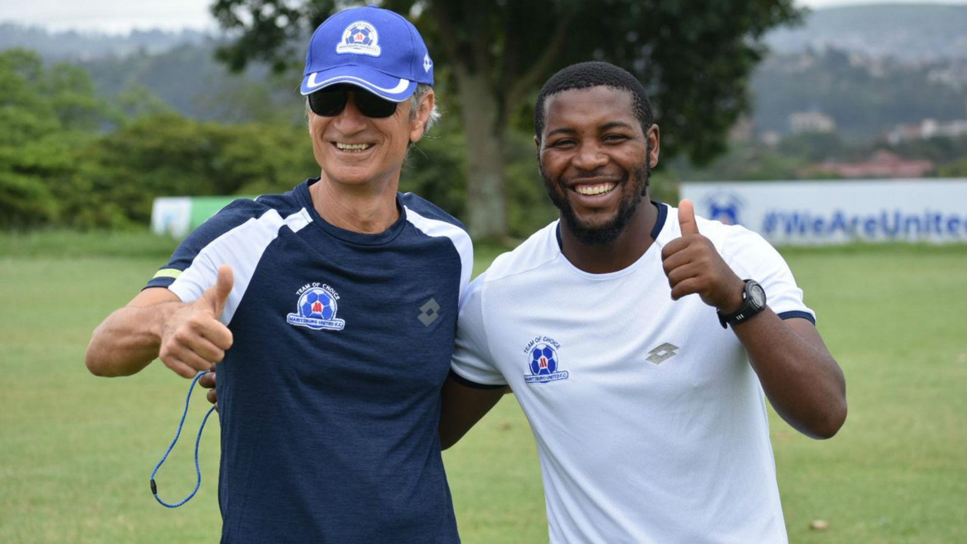 Muhsin Ertugral & Mabhuti Khenyeza, Maritzburg United, January 2019