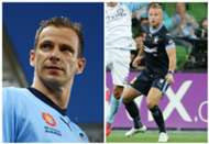 Alex Wilkinson Jordy Buijs Sydney FC A-League