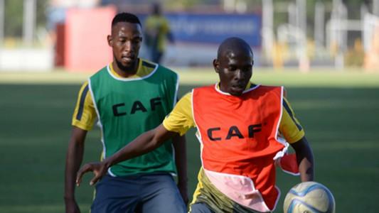 Diamond Thopola and Maphosa Modiba - Bafana Bafana.