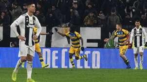 Cristiano Ronaldo Gervinho Juvenrtus Parma Serie A
