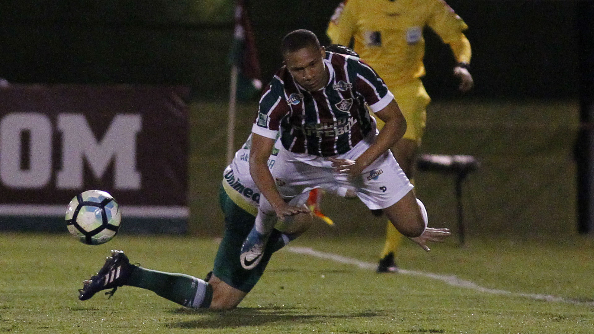 Wellington Silva Fluminense Chapecoense Brasileirão 04 07 2017
