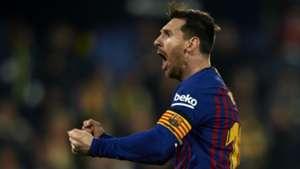 Lionel Messi Barcelona Villarreal La Liga 2019