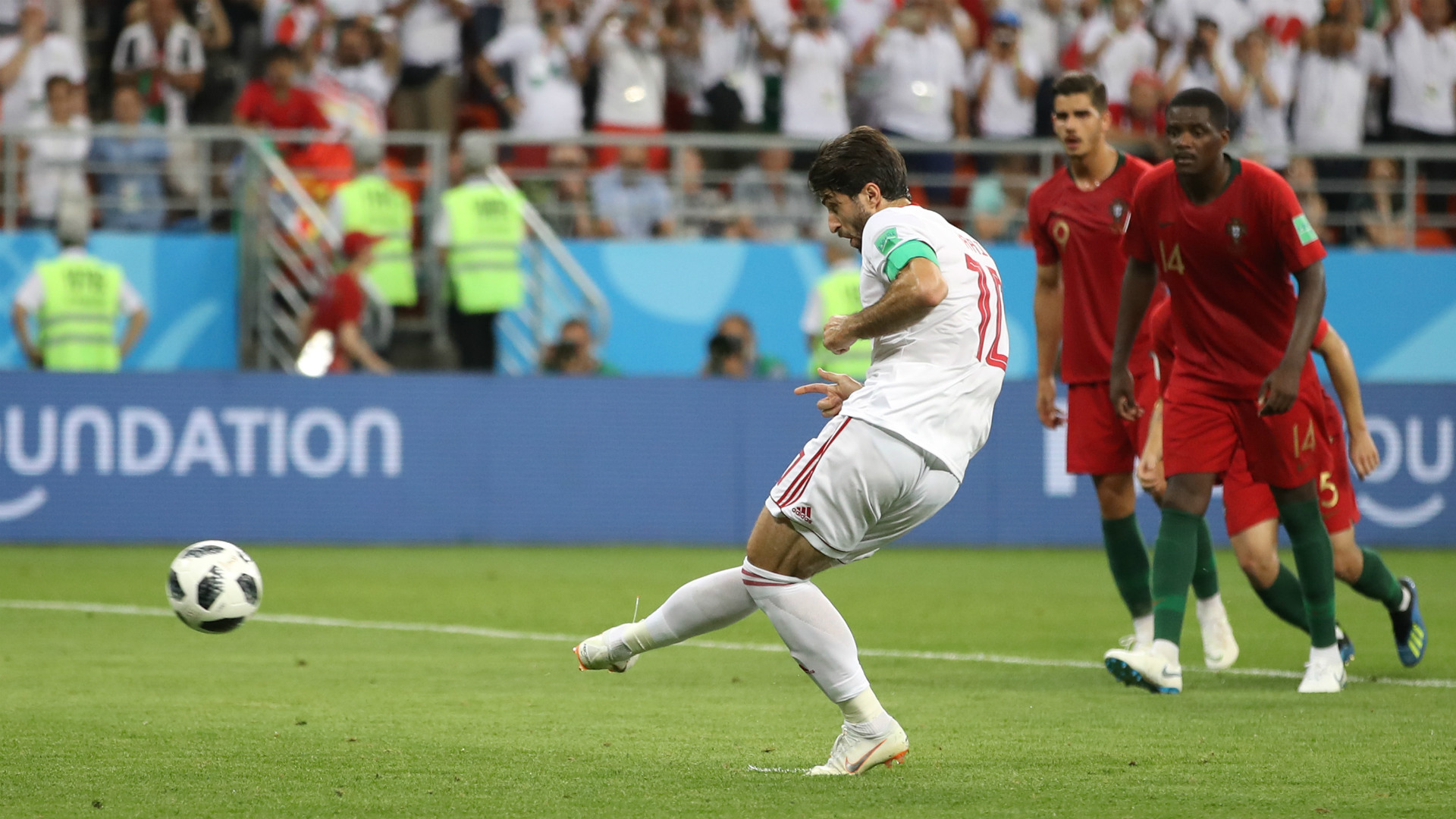 Iran penalty vs Portugal World Cup 2018