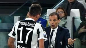 Mario Mandzukic, Massimiliano Allegri, Juventus, Serie A, 20092017