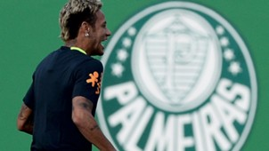 Neymar Palmeiras Brasil treino 08102017
