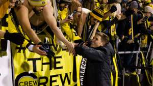 Wil Trapp with Columbus Crew fans