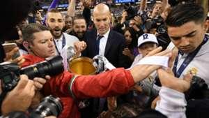Zidane Champions League 2017