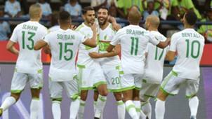 Riyad Mahrez Algeria Zimbabwe