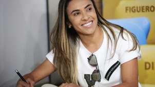 Marta Vieira Calcada da Fama Maracanã 10122018