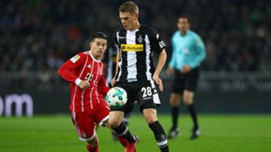 Matthias Ginter James Rodriguez Gladbach Bayern Bundesliga 1117