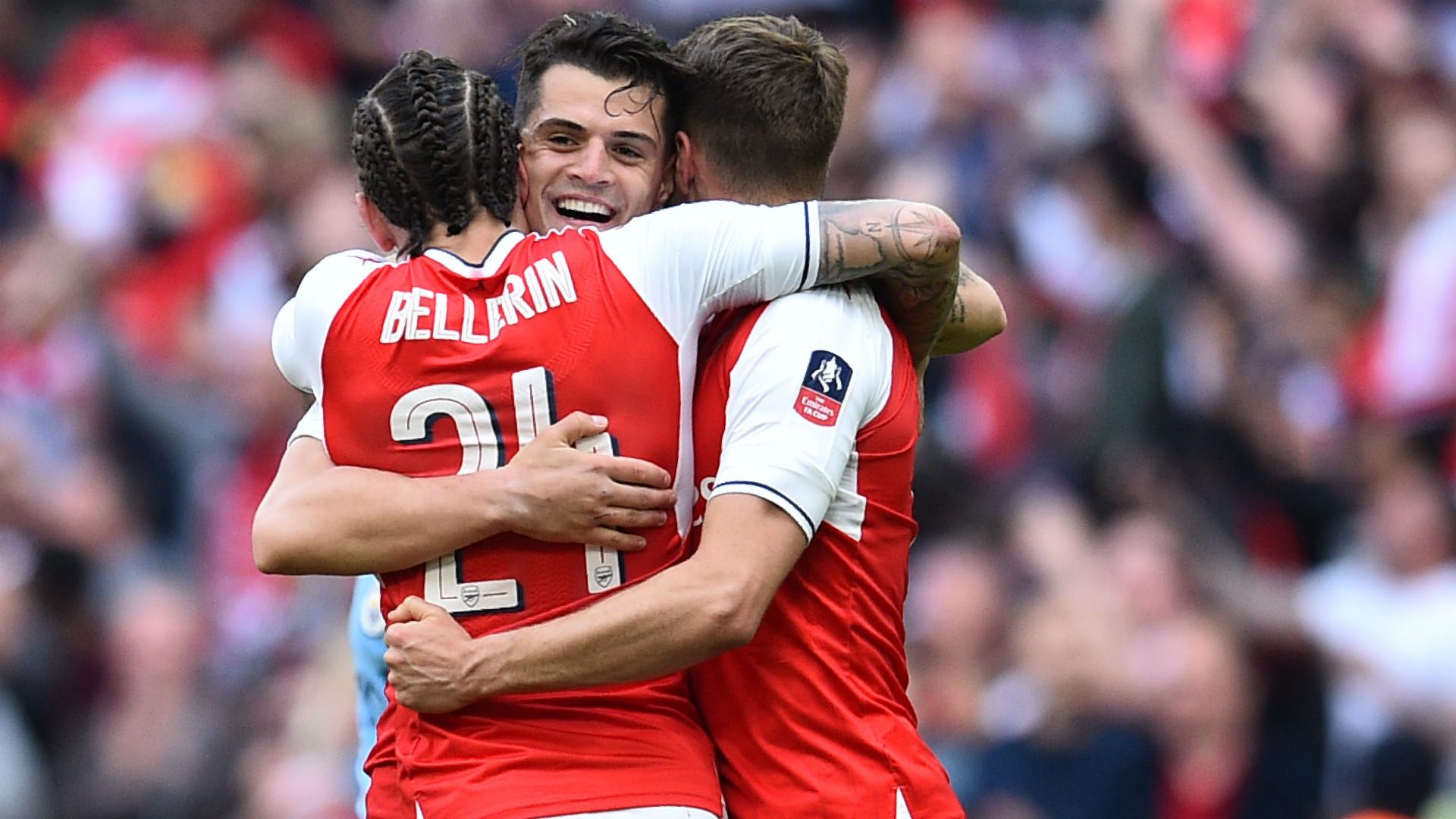 Granit Xhaka Arsenal FA Cup