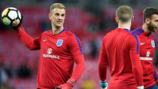 Joe Hart England Brazil Friendly 14112017
