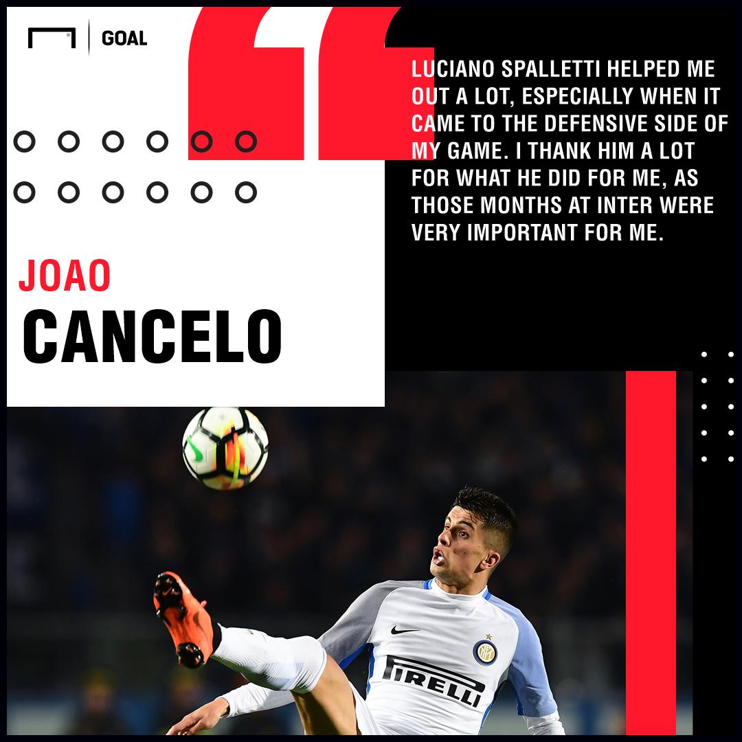 Joao Cancelo Luciano Spalletti PS