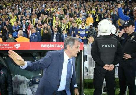 Besiktas boss injured as Fenerbahce cup clash abandoned