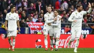 Bale Modric Atletico Madrid Real Madrid LaLiga