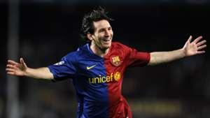 Lionel Messi FC Barcelona 2008