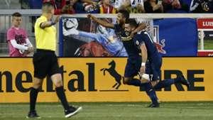 Romain Alessandrini Giovani dos Santos LA Galaxy
