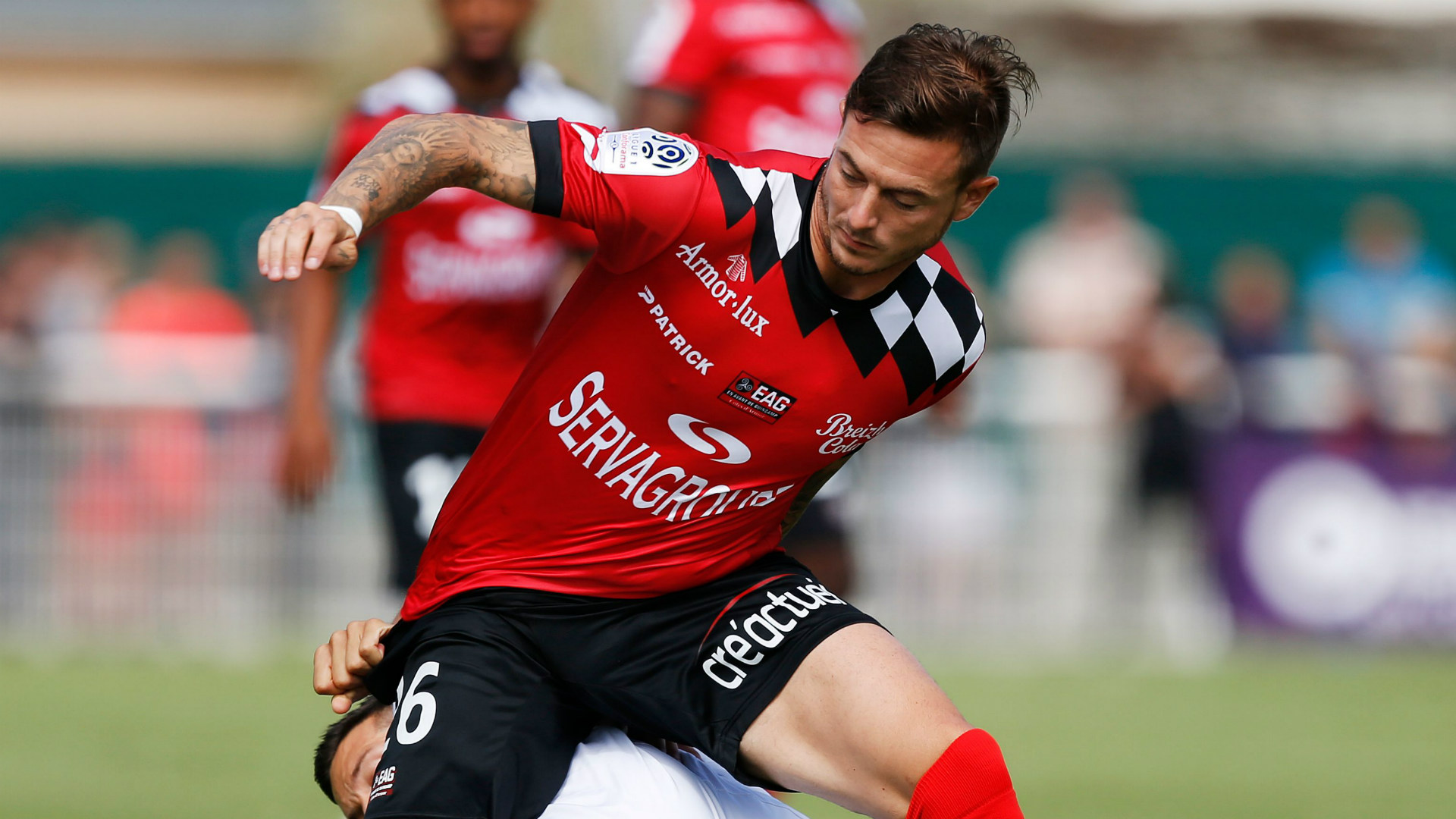 Ligue 2 : Guingamp battu à domicile par Valenciennes