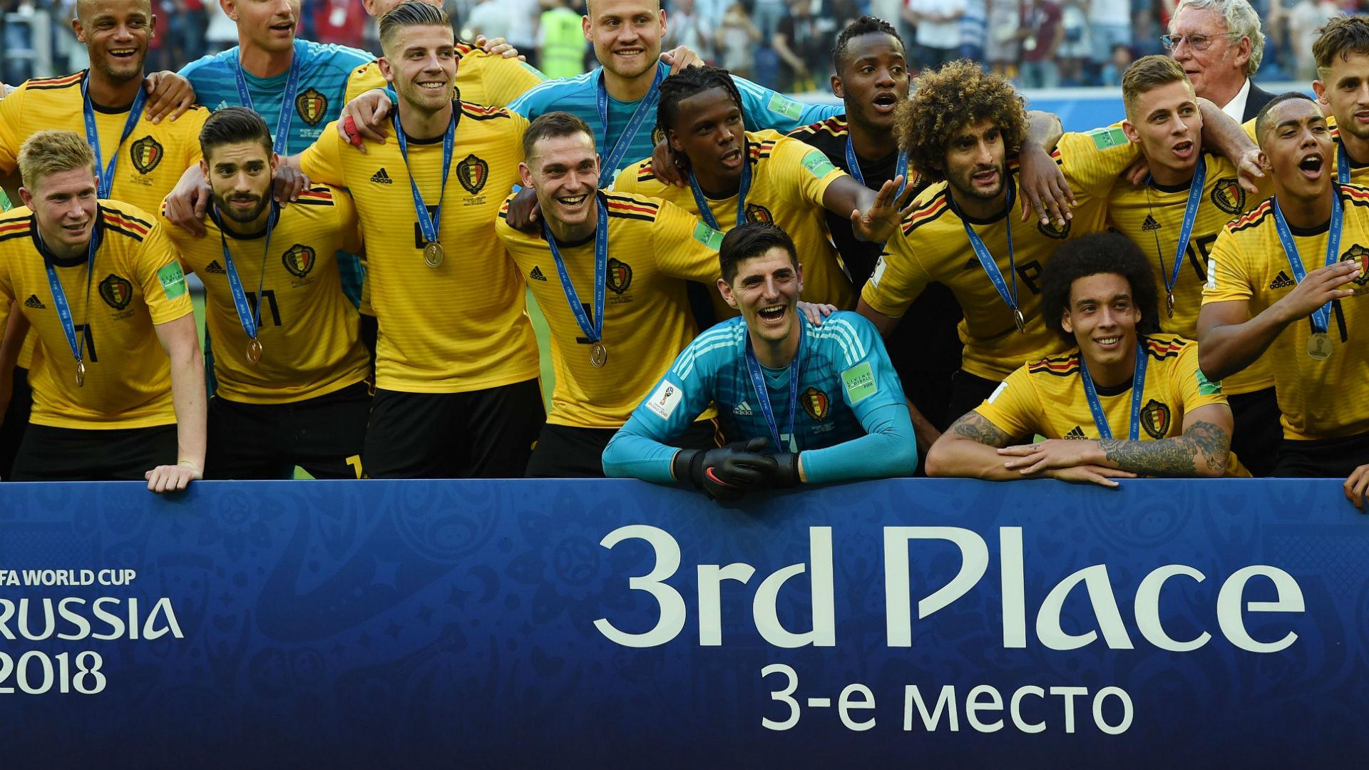 Bélgica Copa do Mundo 14 07 2018