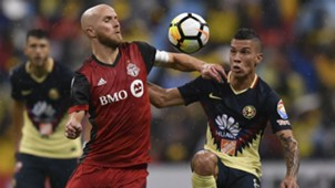 Michael Bradley Mateus Uribe Toronto FC Club America CONCACAF Champions League