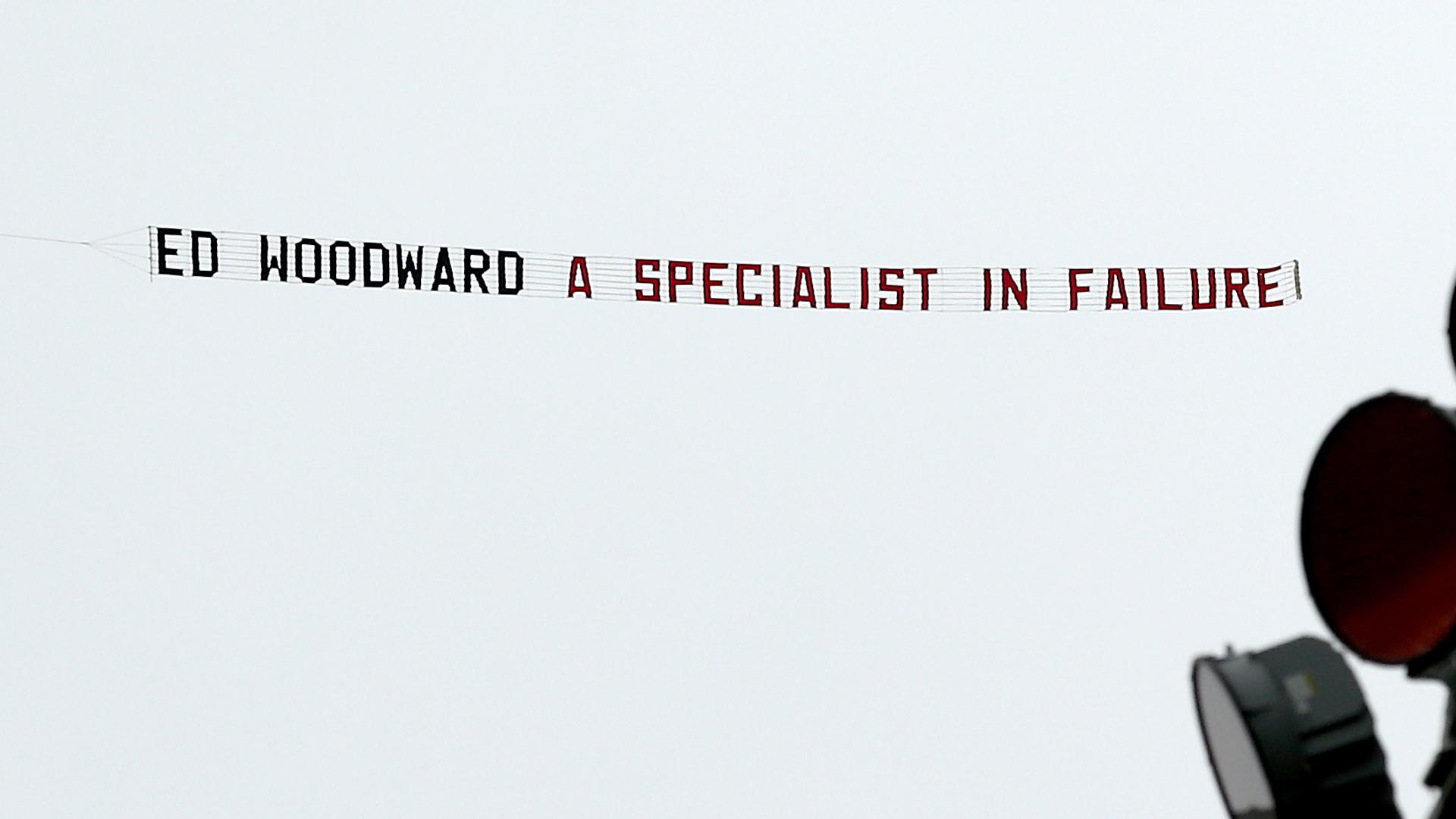 Ed Woodward plane