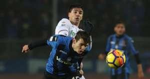 Marten De Roon Giovanni Simeone Atalanta Fiorentina Serie A