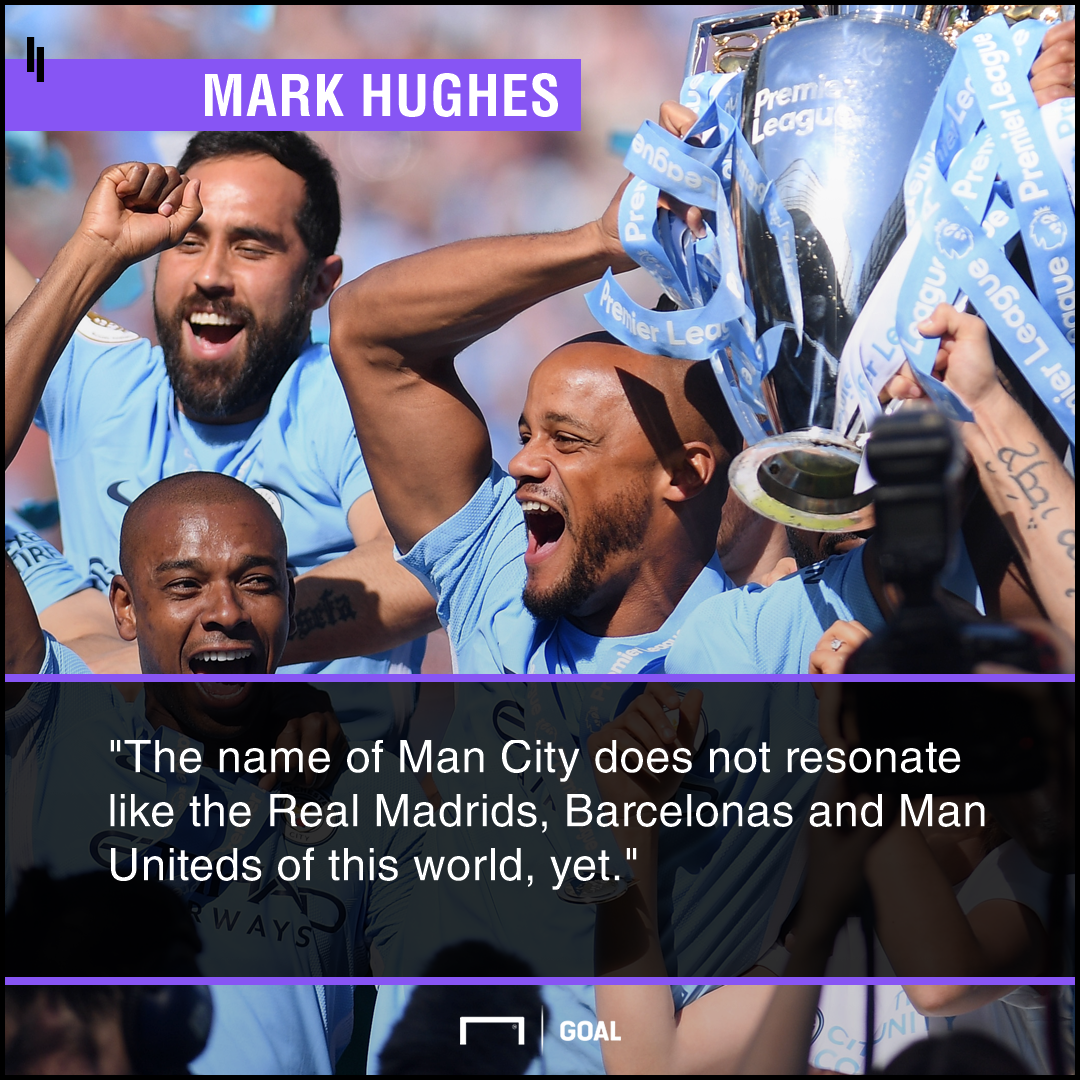 Manchester City not global force yet Mark Hughes