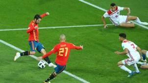 España - Marruecos Rusia 2018