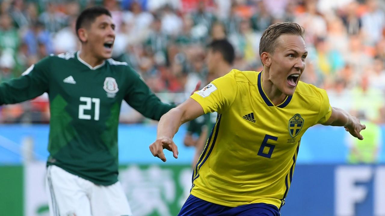 Image result for สวีเดนรัวยับครึ่งหลังถล่มเม็กซิโก 3-0