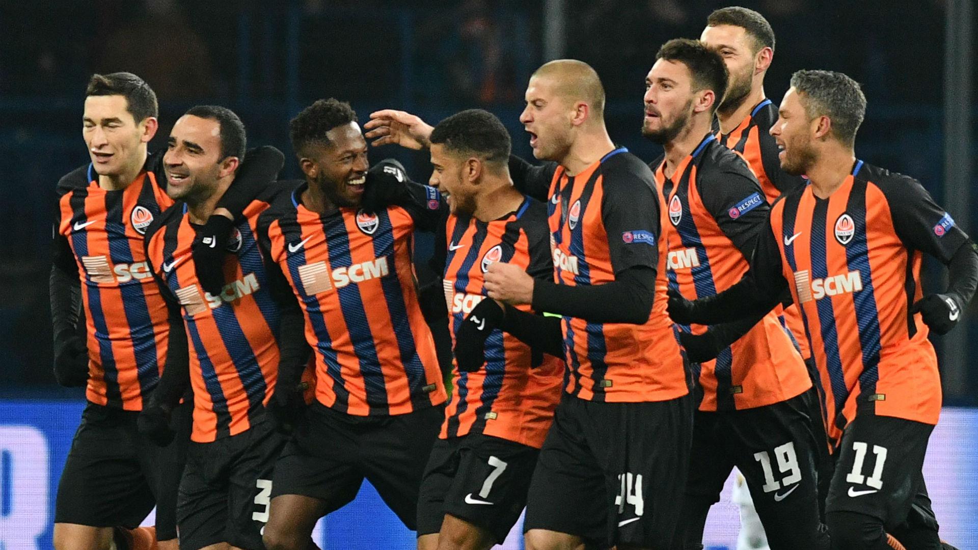 Fred Shakhtar Donetsk Roma Champions League