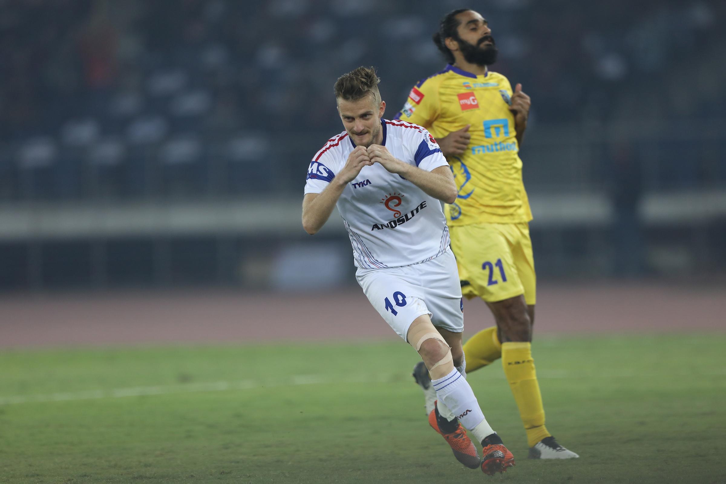 Rene Mihelic Delhi Dynamos Kerala Blasters